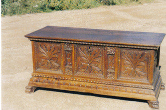 A client found Inspiration for an entertainment center from one of our reproductions