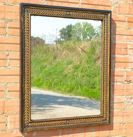 Antique Empire style mirror