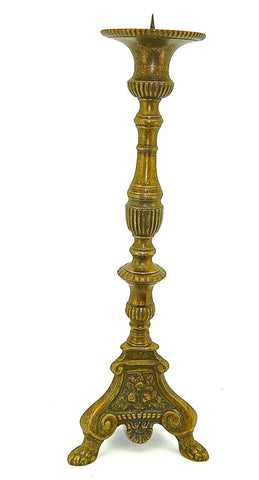 "Tall ""Basque"" Floor Candlestick"