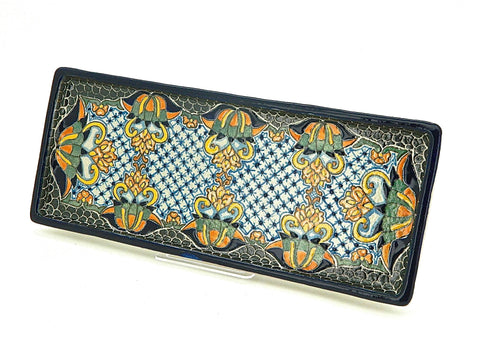 "Large Talavera Hors D'oeuvres Tray - ""REYNA"""