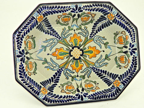 "Talavera Water / Wine Pitcher - ""REGINA"""