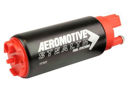 Aeromotive 340 Stealth E85 Fuel Pump (Offset Inlet - Inlet Inline w/ Outlet)