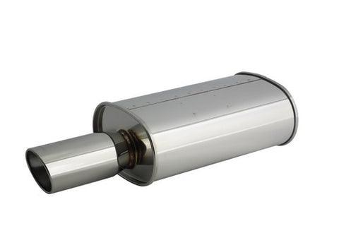 Apexi WS2 Universal Muffler (NA / 60mm Inlet)
