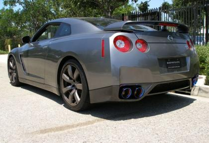Tanabe '09-'15 GT-R Medallion Touring Catback Exhaust