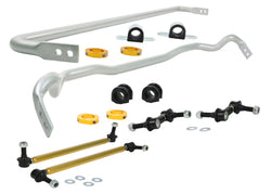 Whiteline '10-'16 Hyundai Genesis Coupe 2.0T /3.8 Front & Rear Sway Bar Kit