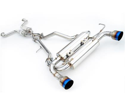 Invidia 02-08 Nissan 350z Gemini Rolled Stainless Steel Tip Cat-back Exhaust