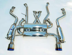 Invidia '07-'13 Infiniti G37 Coupe Gemini Rolled Titanium Tip Cat-back Exhaust