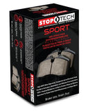 StopTech '08-'15 Evo X Street Axel Pack w/o  Brake Lines