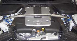 Front Strut Bar Type OS Infiniti CKV36 NJ50 G37 Coupe G35 Sedan by Cusco