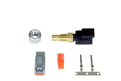 "AEM 1/8"" NPT Water/Oil Temp Sensor Kit with DTM-Style Connector"
