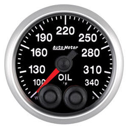 Autometer Elite Series 52mm Oil Temperature Gauge