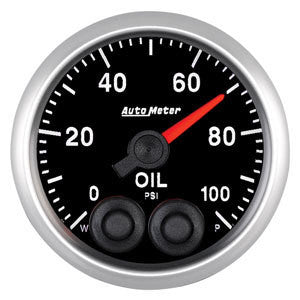 Autometer Elite Series 52mm Oil Pressure Gauge