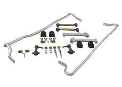 Whiteline  13+ FR-S / 13+ BRZ / 17+ GT86 Front 22mm & Rear 16mm Adj HD Swaybar Kit w/ Endlinks