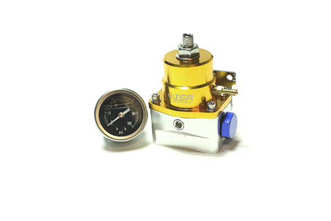 ISR Performance Universal Fuel Pressure Regulator (Gold)