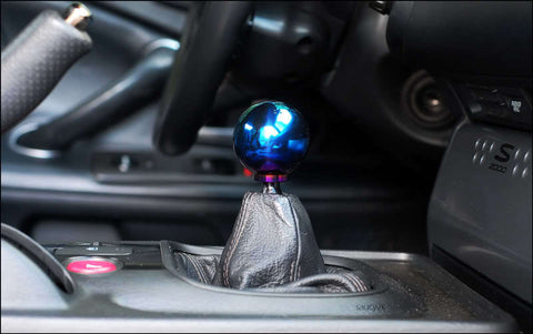 J'S RACING Titanium Shift Knob (Blue Gradation)