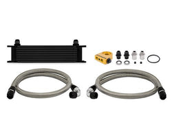 Mishimoto 10 Row Black Universal Oil Cooler Kit