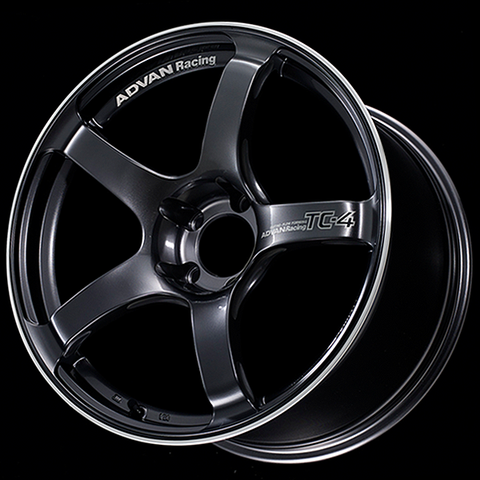 Advan TC4 18x9.5 5x114.3 +12 Racing Gunmetallic