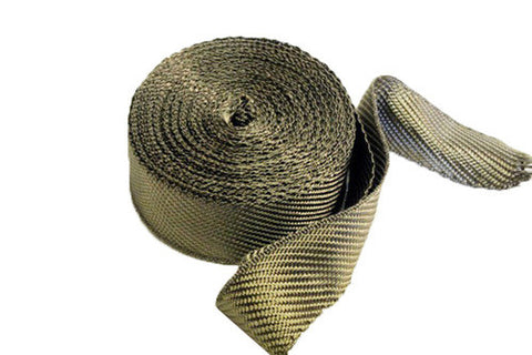 "ISR Performance Titanium Exhaust Heat Wrap (2"" x 1.6mm x 50')"