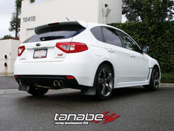 Tanabe Medallion Touring Quad Tips Catback Exhaust '08-'12 Impreza WRX STi