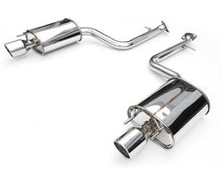 Invidia '14-'16 VW Golf GTI Q300 Rolled SS Tip Cat-Back Exhaust