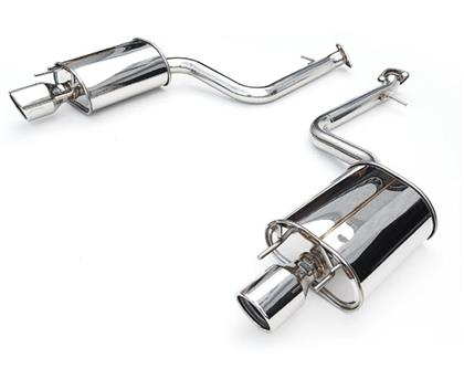 Invidia '15-'16 VW Golf-R Q300 w/ Oval Stainless Steel Tips Cat-Back Exhaust