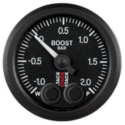 Stack 52mm Pro-Control Boost Pressure Gauge