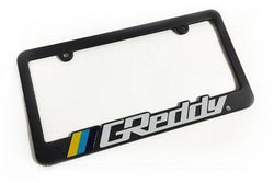Greddy License Plate Frame