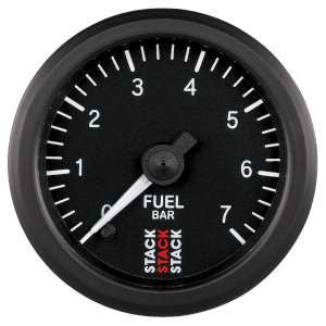 Stack 52mm Professional Stepper Motor Analogue Fuel Pressure Gauge