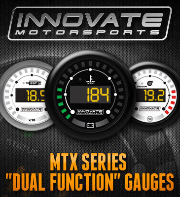 Innovate MTX Digital Vacuum/Boost & Shift Light Gauge Kit