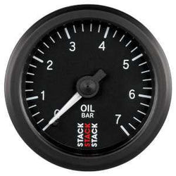 Stack 52mm Professional Stepper Motor Analogue Oil Pressure Gauge