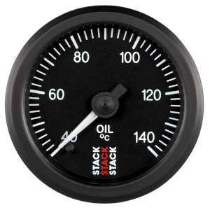 Stack 52mm Professional Stepper Motor Analogue Oil Temperature Gauge