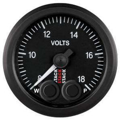 Stack 52mm Pro-Control Battery Voltage Gauge