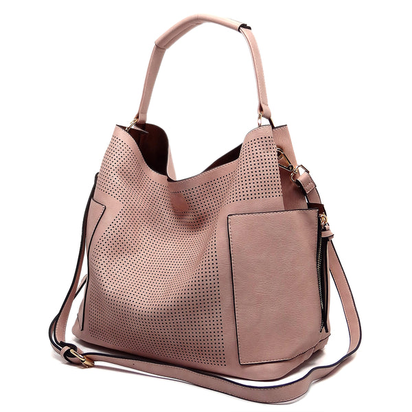 NEW Perforated 2-in-1 Shoulder Bag
