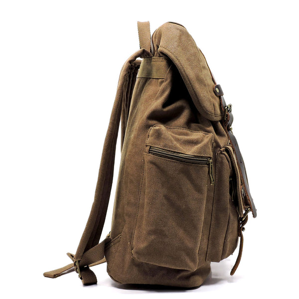 NEW Military Canvas Backpack