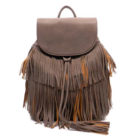 Fashion Fringe Backpack