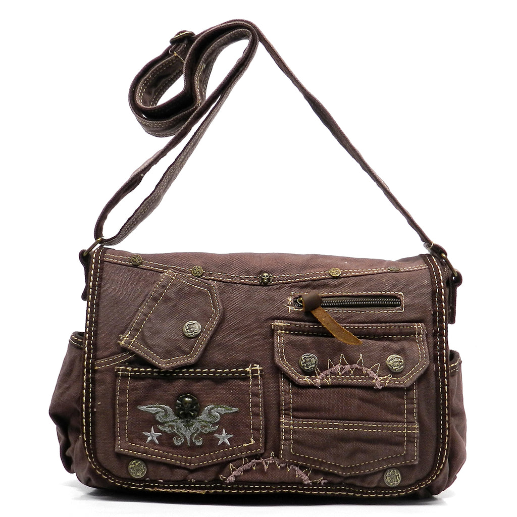Military Canvas Messenger Bag