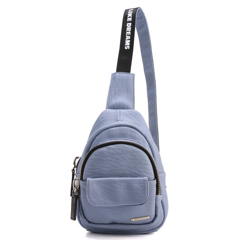 NEW Fashion Zip Sling Backpack