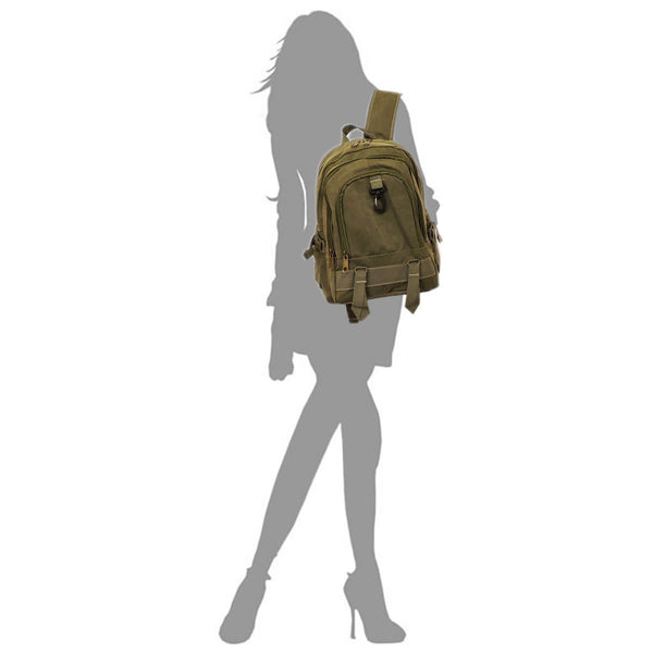 Military Canvas Backpack