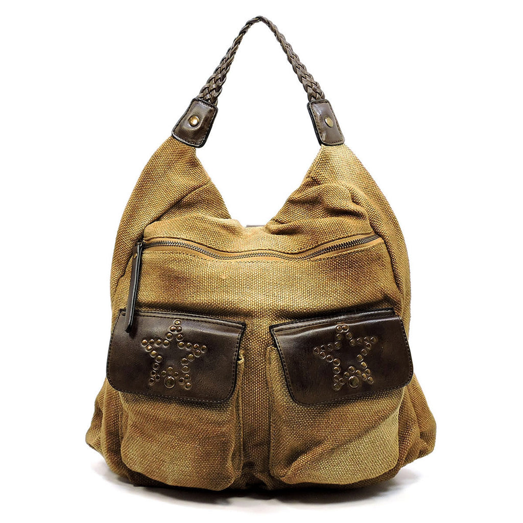 Vintage Canvas Tote Backpack