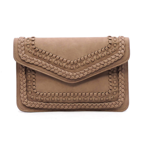 Envelope Clutch Braided