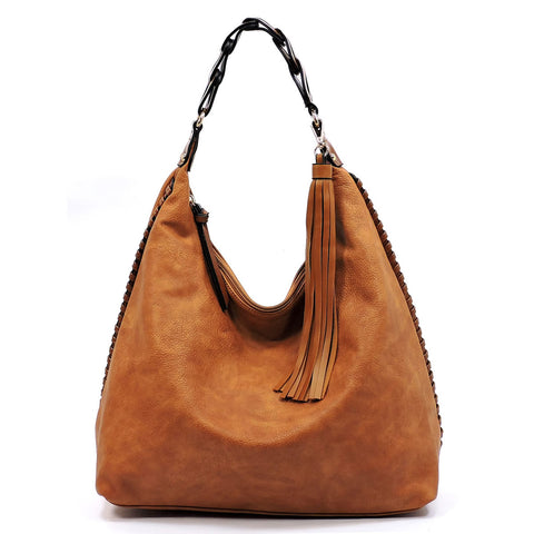 Shoulder Bag Hobo Braided Strap
