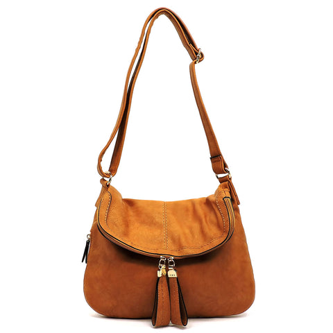 Fashion Flap Over Messenger Bag Crossbody Bag