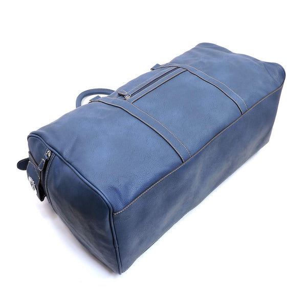 "NEW 22"" Duffle Fashion Gym Tote Pale Blue"