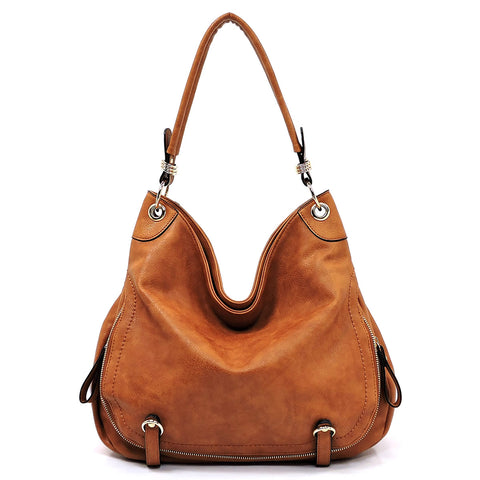 NEW Fashion Zip Shoulder Bag Hobo