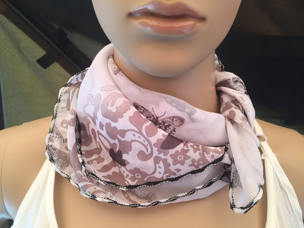 1 Fits All - Butterfly BW - Face Mask Scarf