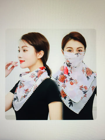 1 Fits All - RedPW - Face Mask Scarf
