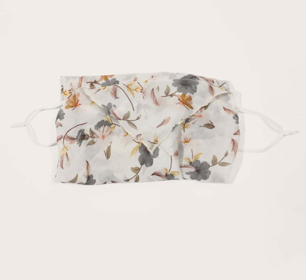 1 Fits All - BOGCWP Floral - Face Mask Scarf