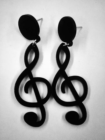 Music Themed Pair Earrings