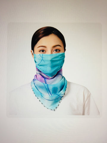 1 Fits All - BlueP - Face Mask Scarf