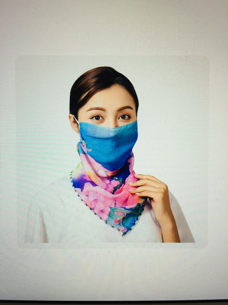 1 Fits All - PinkVB - Face Mask Scarf